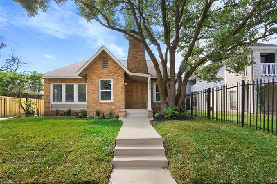 Houston Single Family Home For Sale: 2804 Ruth Street