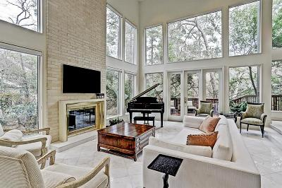 Houston Single Family Home For Sale: 9123 Briar Forest Drive