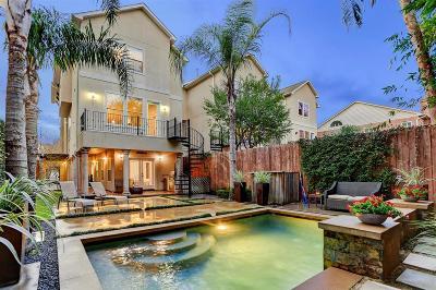 Houston Single Family Home For Sale: 906 Birdsall Street