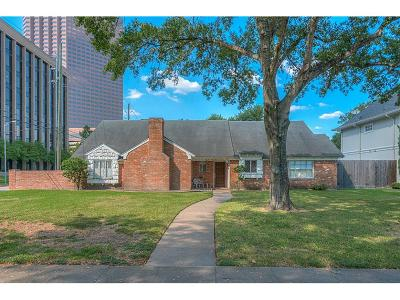 Houston Single Family Home For Sale: 5434 Inwood Drive