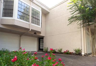 Houston Condo/Townhouse For Sale: 1718 Welch Street #C