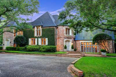 River Oaks Single Family Home For Sale: 1419 Kirby