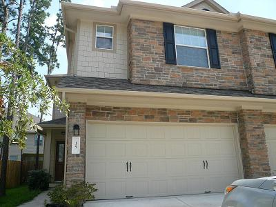 The Woodlands Condo/Townhouse For Sale: 35 Wickerdale Place