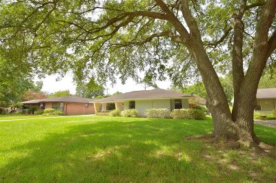 Houston Single Family Home For Sale: 3822 Linkwood Drive