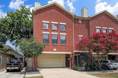 Houston Condo/Townhouse For Sale: 2206 Sherwin Street