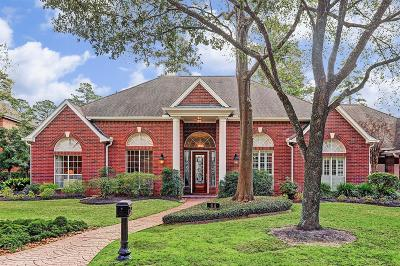 Houston Single Family Home For Sale: 64 Champions Bend Circle