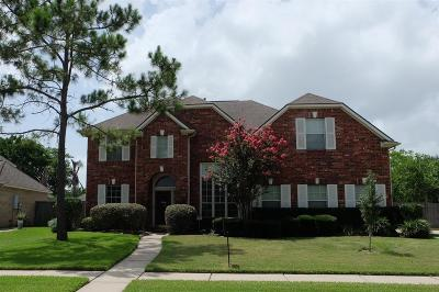 Friendswood Single Family Home For Sale: 1312 Cambridge Drive