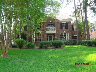 The Woodlands Single Family Home For Sale: 71 E Coldbrook Circle