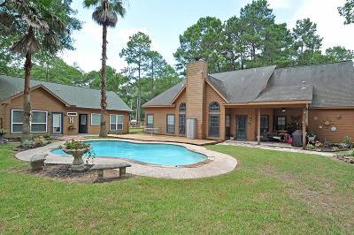 Huffman Single Family Home For Sale: 29038 Lake Houston Lane