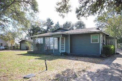 Sealy Single Family Home For Sale: 803 Nelson