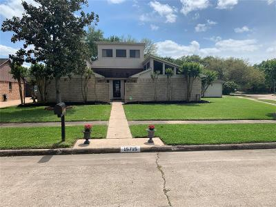 Houston Single Family Home For Sale: 15715 Lone Tree Drive