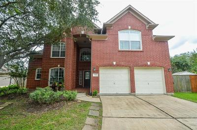 Sugar Land Single Family Home For Sale: 1702 Wind Trace Cove