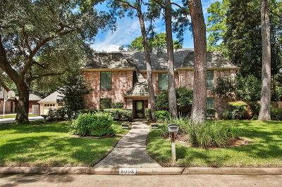 Spring Single Family Home For Sale: 8006 Beaufort Drive
