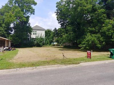 Houston Residential Lots & Land For Sale: 829 Herkimer Street