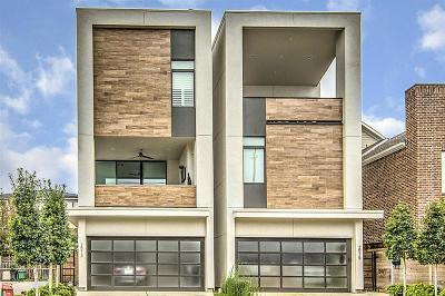 Houston Single Family Home For Sale: 2013 McDuffie Street