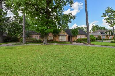 Houston Single Family Home For Sale: 10426 Memorial Drive