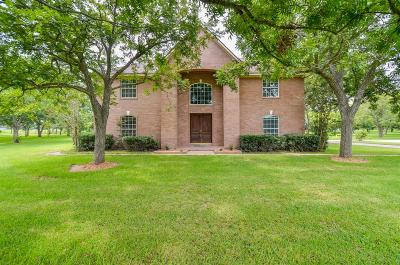 Fulshear Single Family Home For Sale: 33703 Fulshear Farms Road