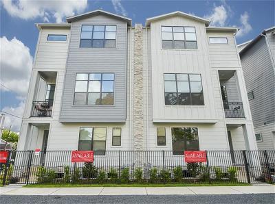 Houston Single Family Home For Sale: 1512 Beall Street