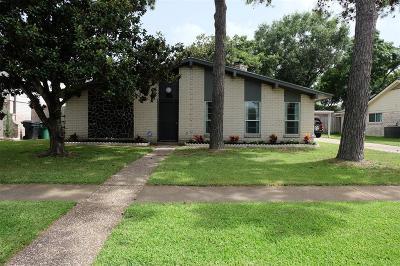 Houston Single Family Home For Sale: 9639 Clanton Street