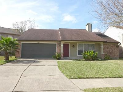 Single Family Home For Sale: 6011 Dyer Brook Drive