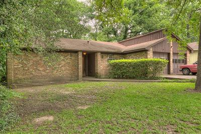 Conroe TX Single Family Home For Sale: $156,999