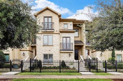 Houston Condo/Townhouse For Sale: 890 Rosastone Trail