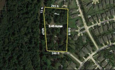 Tomball Residential Lots & Land For Sale: 18620 King Road