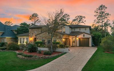 The Woodlands Single Family Home For Sale: 38 N Player Manor Circle