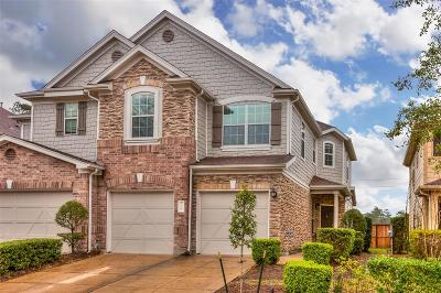 Tomball Condo/Townhouse For Sale: 16012 Limestone Lake Drive
