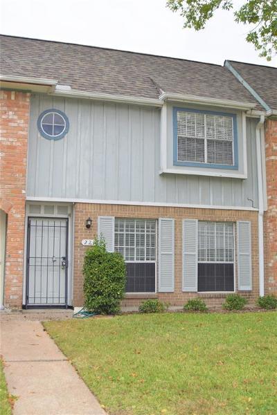 Houston TX Condo/Townhouse For Sale: $117,300