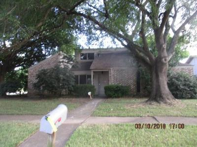 Houston Single Family Home For Sale: 15203 Plaza Libre Drive