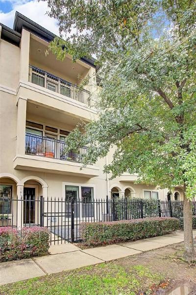 Houston Condo/Townhouse For Sale: 1619 Stuart Street