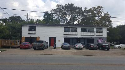 Houston Multi Family Home For Sale: 3001 Cleburne Street