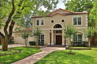 Bellaire Single Family Home For Sale: 4903 Fern
