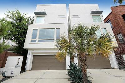 Houston Condo/Townhouse For Sale: 1322 Crocker Street