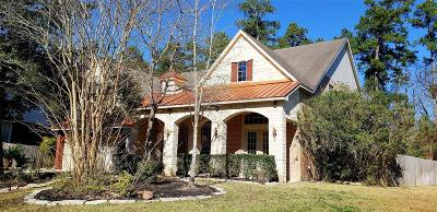 The Woodlands Single Family Home For Sale: 38 E Artist Grove Circle