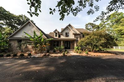 Conroe Single Family Home For Sale: 10885 Lake Forest Drive