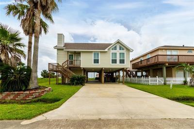 Galveston Single Family Home For Sale: 22317 Vista Del Mar