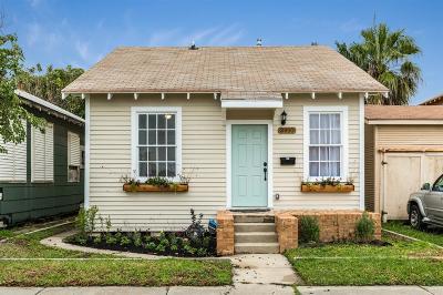 Galveston Single Family Home For Sale: 3910 Avenue S 1/2