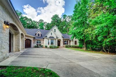 Conroe Single Family Home For Sale: 7462 Enchanted Stream Drive