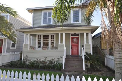Galveston Single Family Home For Sale: 2917 Avenue Q
