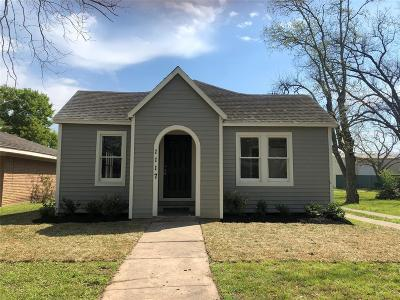 Rosenberg Single Family Home For Sale: 1117 Austin
