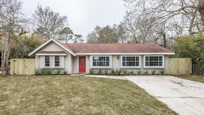Dickinson, Friendswood Single Family Home For Sale: 12251 Pine Lane