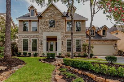The Woodlands Single Family Home For Sale: 114 E Beckonvale Circle