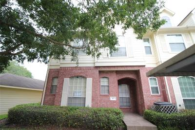 Sugar Land Condo/Townhouse For Sale: 2710 Grants Lake Boulevard #K5