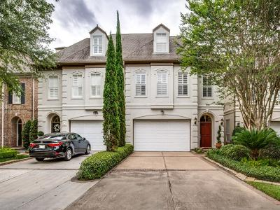 Houston Condo/Townhouse For Sale: 4028 Gramercy Street