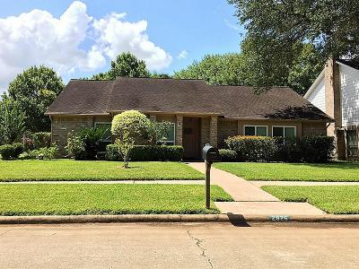 Sugar Land Single Family Home For Sale: 2826 Edgewood