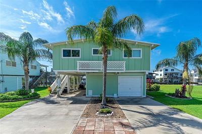 Galveston Single Family Home For Sale: 22201 Matagorda Drive