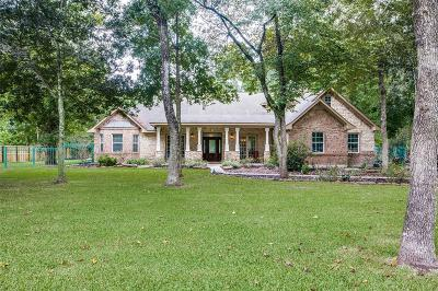 Crosby Single Family Home For Sale: 20111 Flying Dove Trail