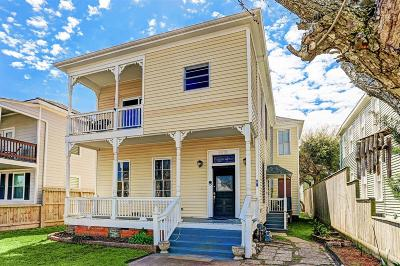 Galveston Single Family Home For Sale: 1915 Avenue O
